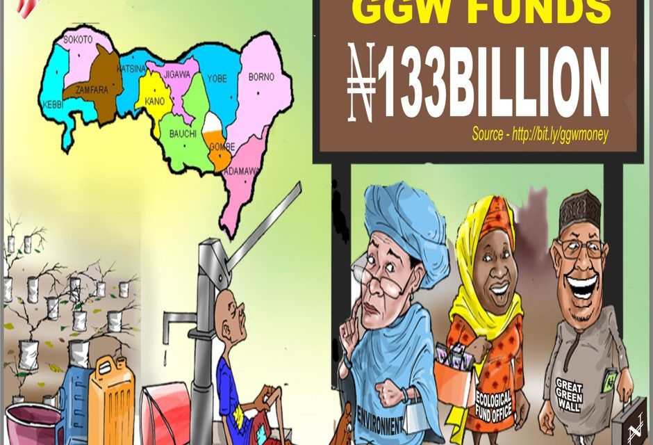 Where did all the Great Green Wall (GGW) Funds Go?