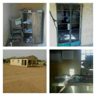 A dispensary in Lantewa Yobe State