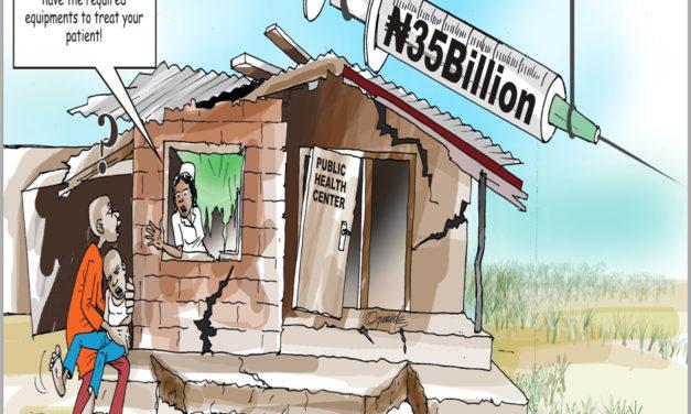 Improving the #Nigeria Health System to #MakeNaijaStronger