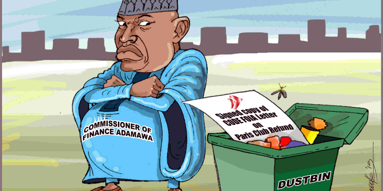 Adamawa State Commissioner of Finance Deprive Citizen Access to Information
