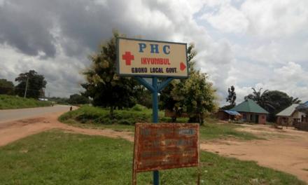 #RehabilitateIkumbur: Tracking NGN 3m  For Rehabilitation Of Primary Healthcare Centre at Ikumbur