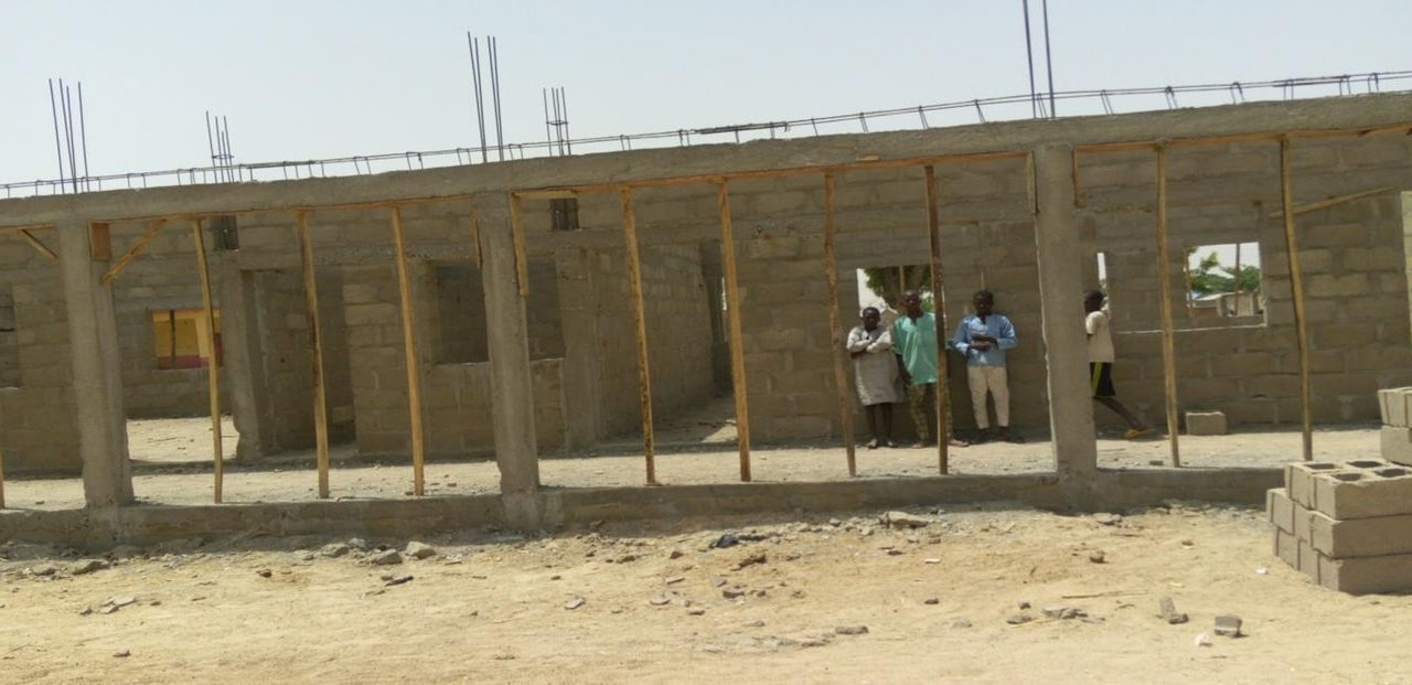 #ErectFurfuri – Construction of 3 Classrooms and Office with Veranda at Furfuri Model Primary School, Bungudu, Zamfara