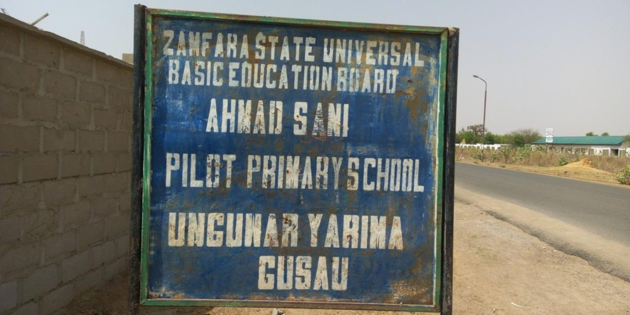 #RefurbishAhmadSani – Construction of a Block of 12 Classrooms Storey Building with Verandah at Ahmad Sani Pilot Model Primary School, Gusua, Zamfara