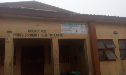 #REVAMPOGUNGBADE – Tracking $1.5 Million dollars for improving PHCs in Ogun  State