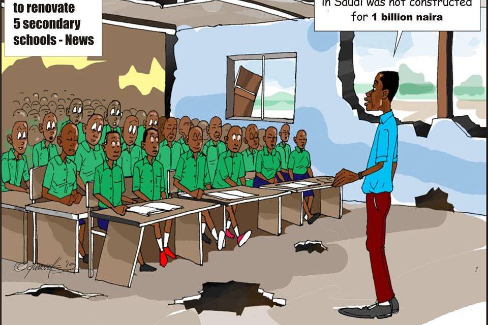 SHOCKING: Zamfara State Governor Used 6bn NGN to renovate 5 Schools