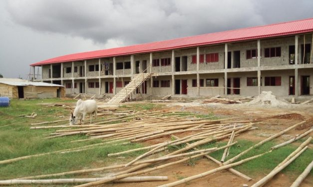 #ConstructErikorodu – Tracking the Construction of a Block of 13 Classrooms, H/T Office, Asst H/T Office, Store and Toilet With Firefighting and Fire Alarm at African Church Primary School, Erikorodu, Ikorodu