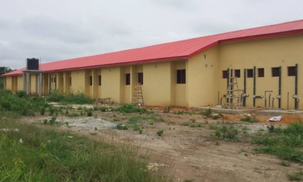 #EducateIraye-Oke – Tracking the Construction of a Block of 6 Classrooms, H/T Office, Asst H/T Office, Store and Toilet with Firefighting and Fire alarm at  U.P.E Primary School, Iraye-Oke, Epe