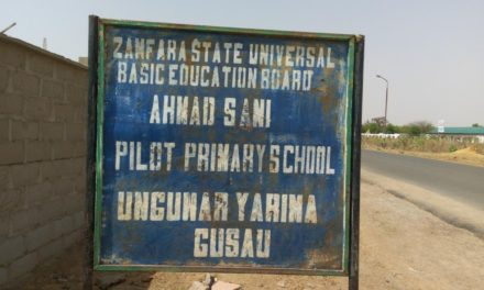 #RefurbishAhmadSani – Construction of a Block of 12 Classrooms Storey Building with Verandah at Ahmad Sani Pilot Model Primary School, Gusua, Zamfara